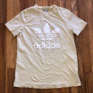 Adidas Trefoil cotton graphic logo t-shirt, M
